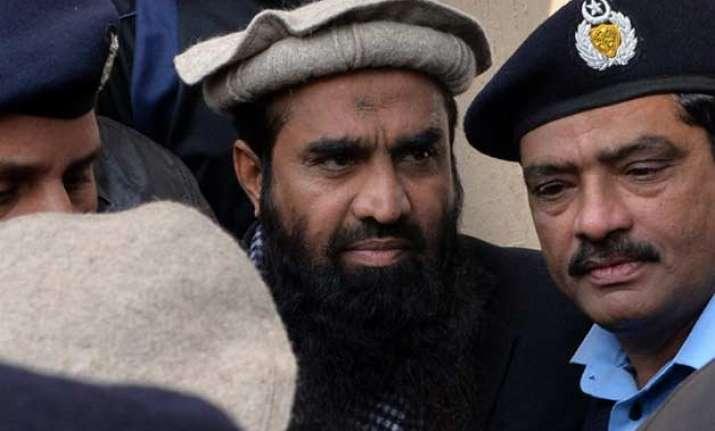 india seeks un intervention on 26/11 mastermind lakhvi s