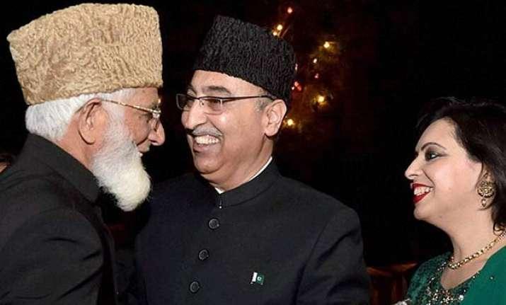 all options open if kashmiri separatists meet sartaj aziz