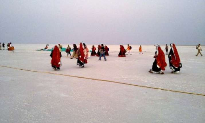 know about india s salt desert great rann of kutch