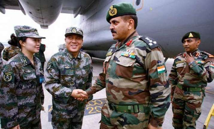indian chinese troops meet on lac commit to cordial ties