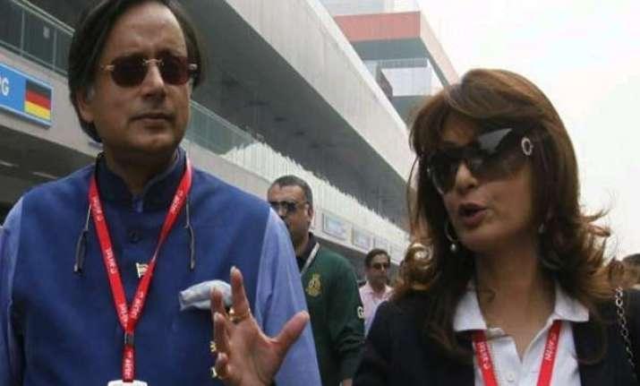 sunanda raised ipl kochi row with journo a day before her