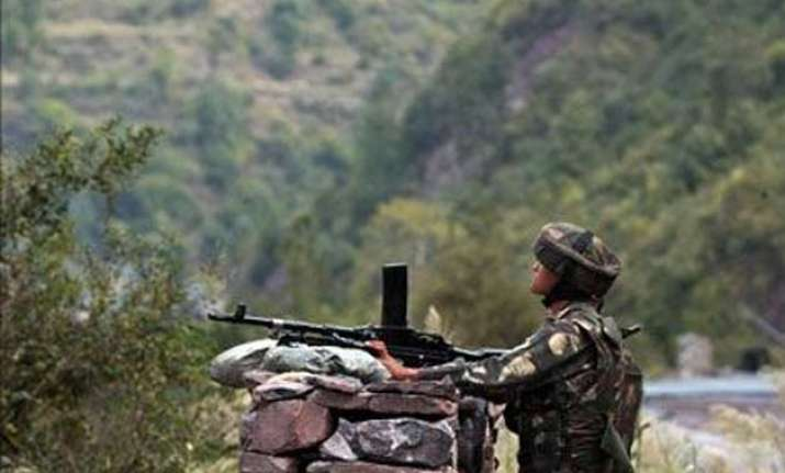 pakistan shells indian posts in poonch