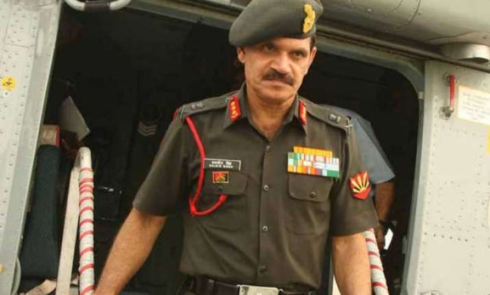 peace in kashmir has to be maintained army chief