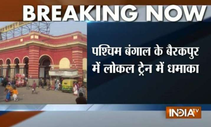 25 injured in explosion in local train blast in west bengal