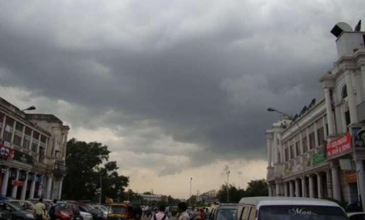 light rains bring some respite from heat in delhi
