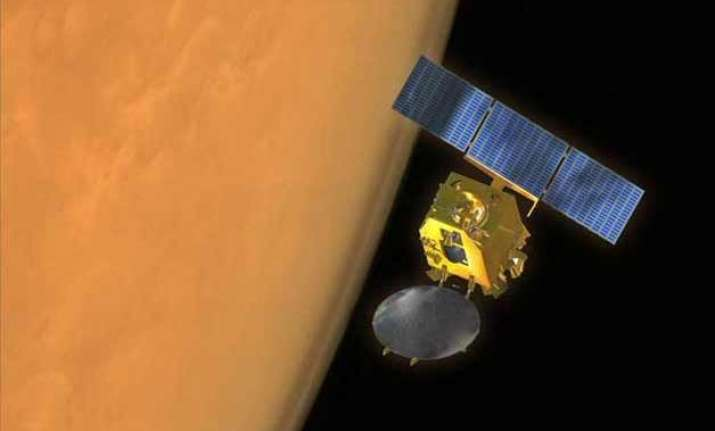 in pics mangalyaan sends back stunning 3d images of mars