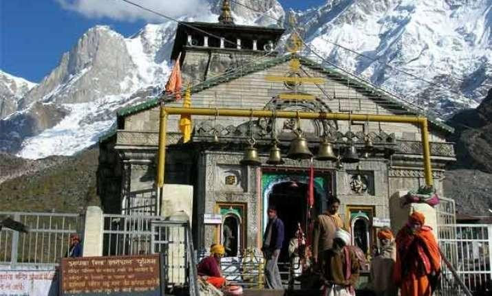 no major danger to kedarnath shrine iit experts
