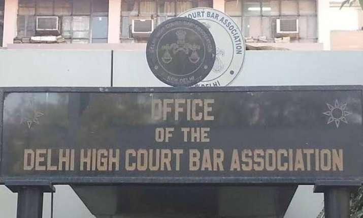 delhi hc bar association secretary suspended