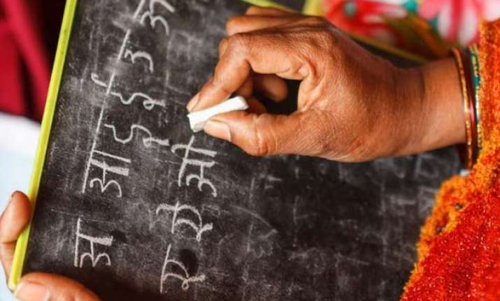 over 35 percent rural indians still illiterate secc