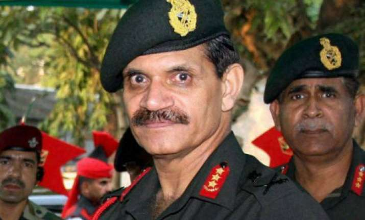 army chief tells commanders to assess security situation