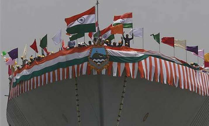 navy s new stealth destroyer visakhapatnam launched
