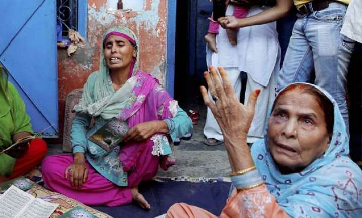 dadri lynching victim s family moved to air force station
