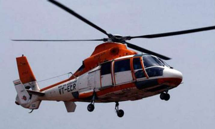 chopper crash bodies of three occupants spotted