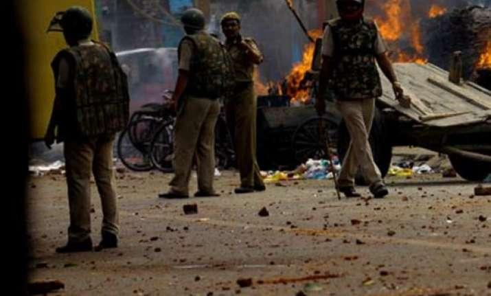 delhi s trilokpuri area still tense