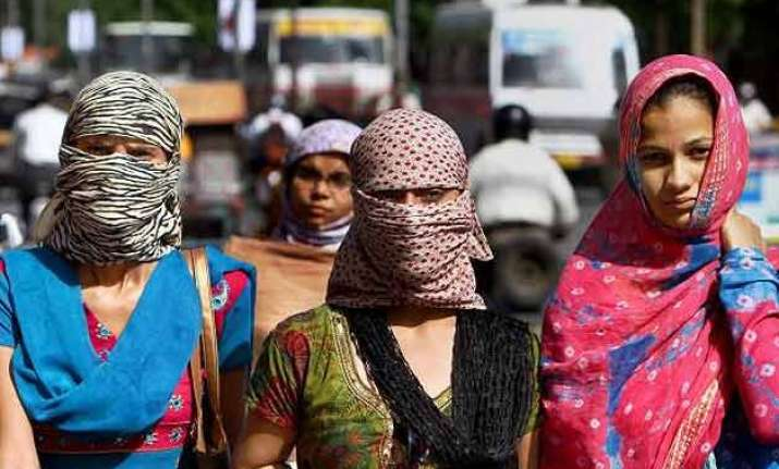 intense heat wave sweeps odisha talcher hottest at 43.2 c