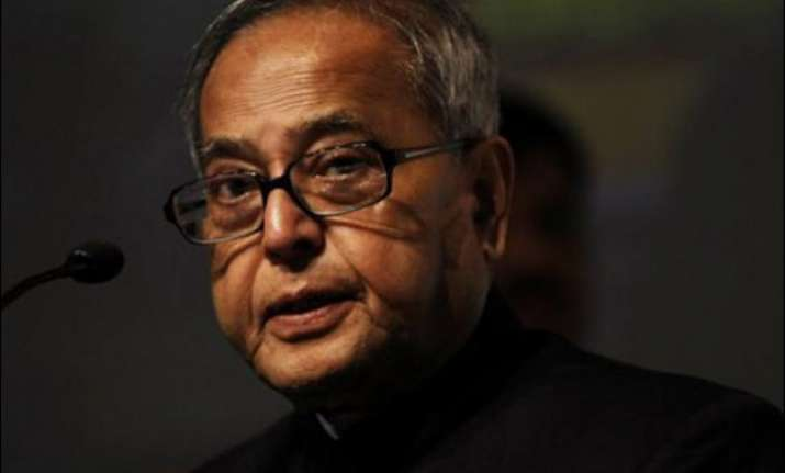 india must reap demographic dividend president pranab