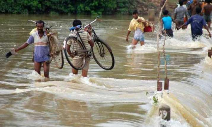 west bengal flood situation grim cm monitors situation at