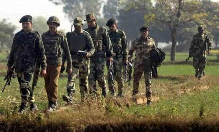 pak firing along border in j k migration on