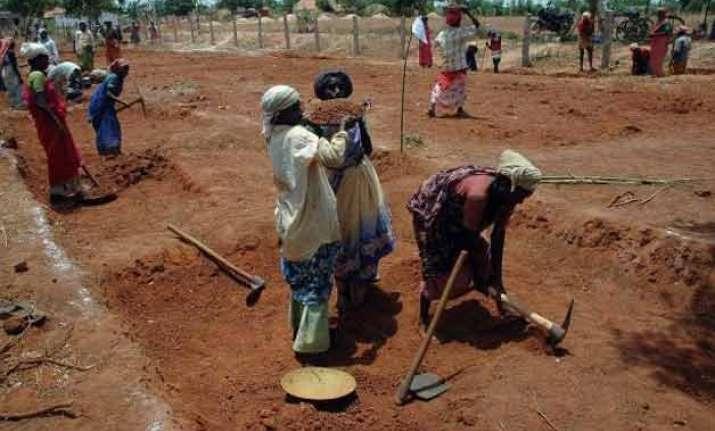 mnrega world s largest public works programme world bank