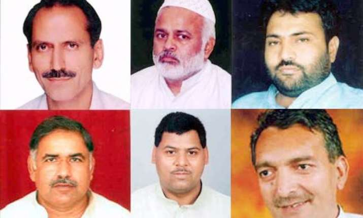 seven sp rjd mps suspended from rajya sabha