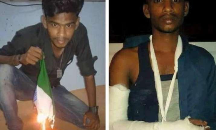 tamil nadu man faces grim consequences of burning indian