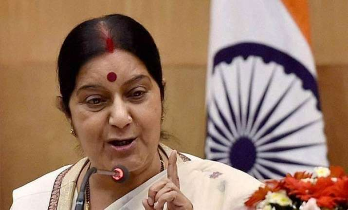 india always a safe home for jewish people sushma