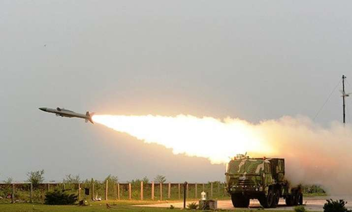 army inducts indigenously built surface to air missile akash