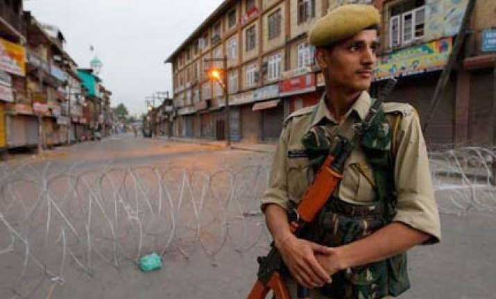 kashmir valley by and large peaceful