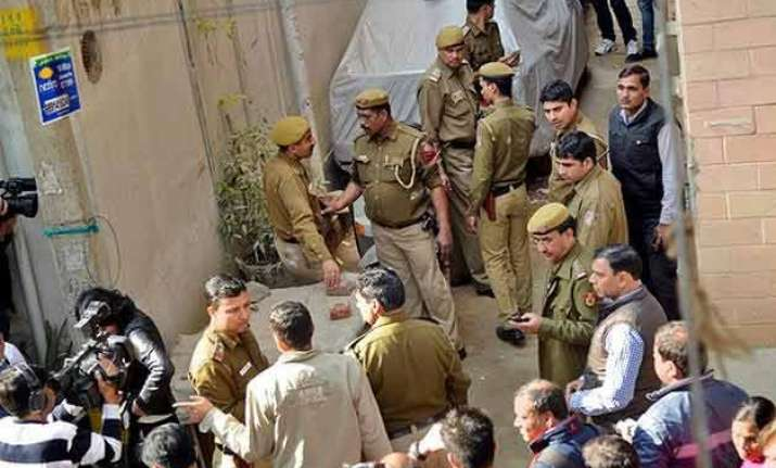 delhi triple murder dejected killers ate and drank at crime