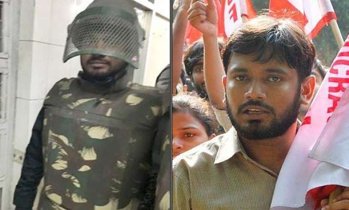 patiala house scuffle when delhi police disguised kanhaiya
