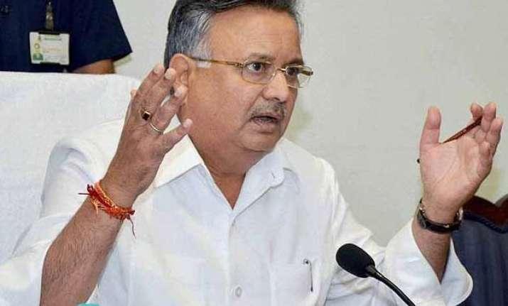 bastar division to be made naxal free soon chhattisgarh cm