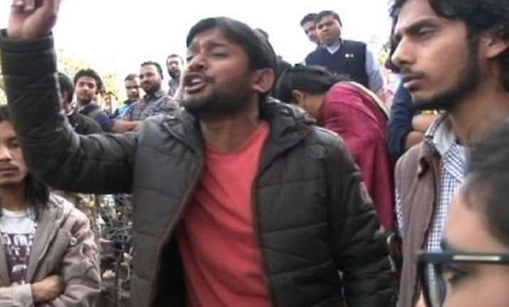 kanhaiya didn t raise any slogan jnu security guard