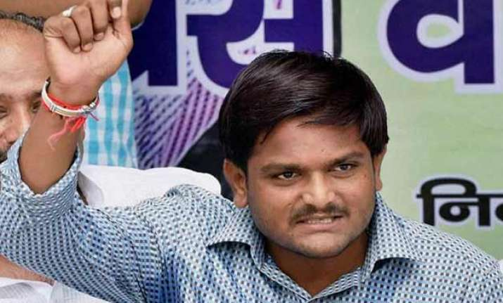 kill cops but don t commit suicide hardik tells patel youth