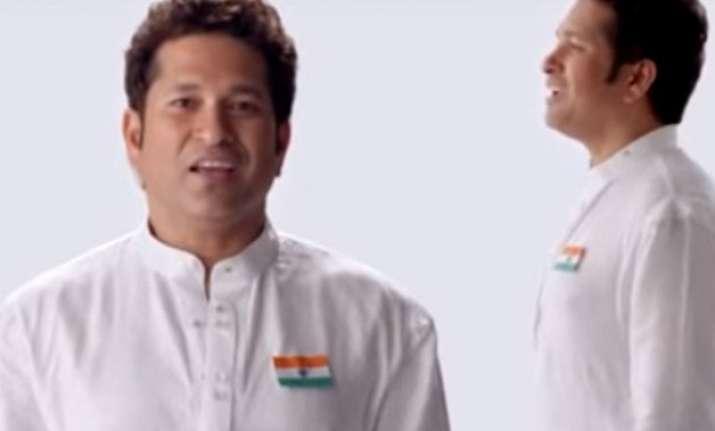 watch sachin tendulkar and other sports stars singing