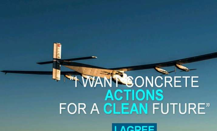 what the solar aircraft going round the world want to teach