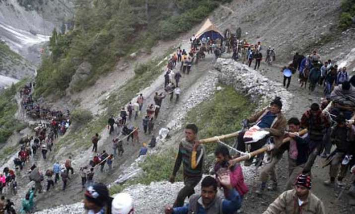 frightened villagers reluctant to return home in kashmir