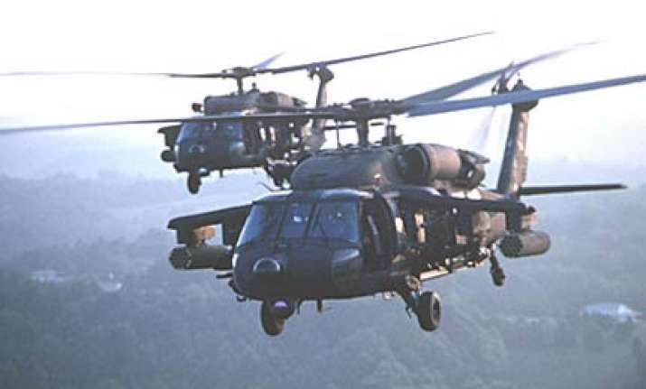 iaf for recall of choppers on un missions