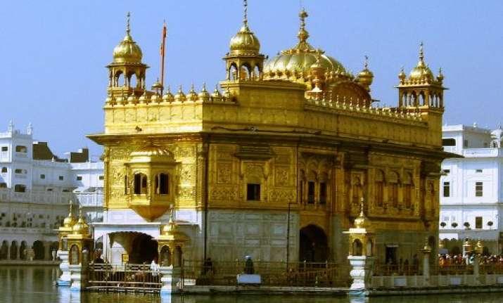 badal dedicates golden temple entrance plaza to public