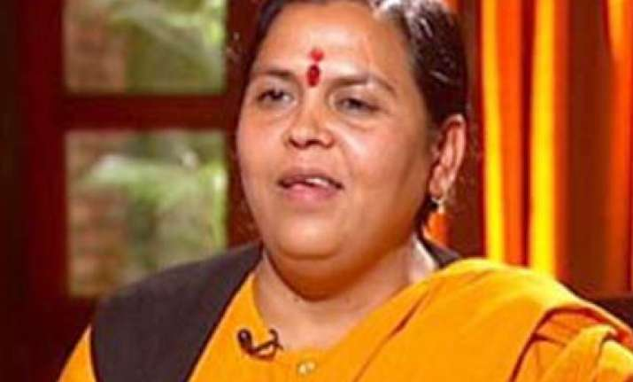 uma bharti quits party which she had founded
