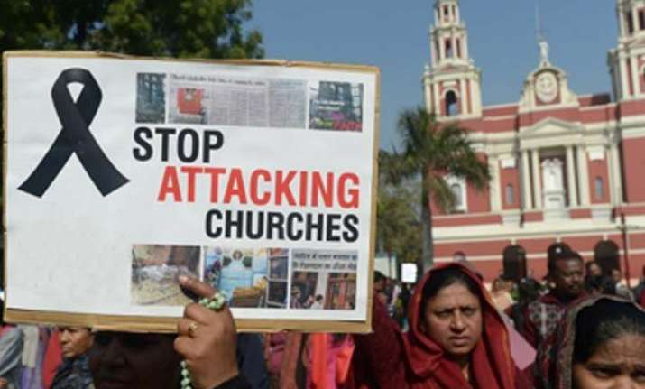 church attacked in jabalpur during bible convention police