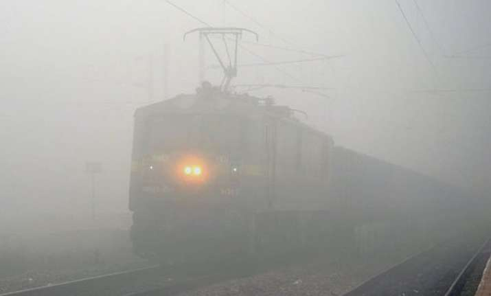 thick fog disrupts flight rail services in national capital