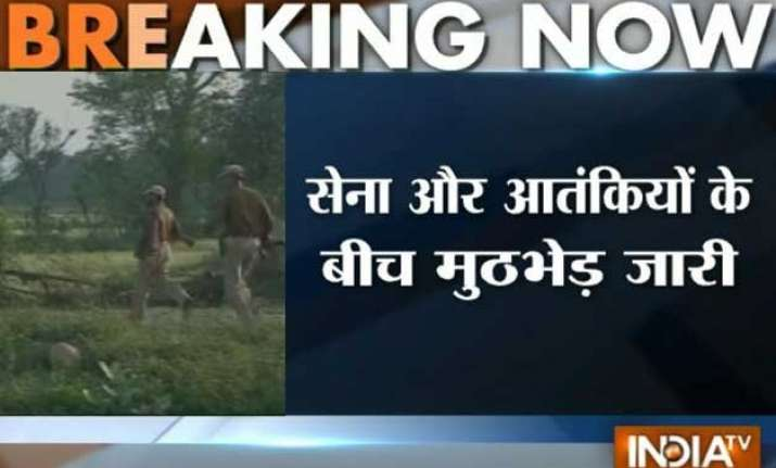 j k 1 terrorist killed during encounter with army in samba
