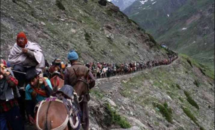 322 pilgrims leave for amarnath