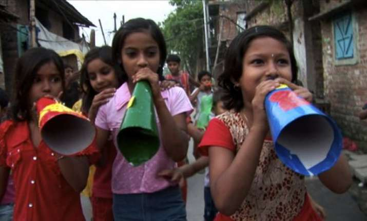 slum children to get santa gifts this durga puja