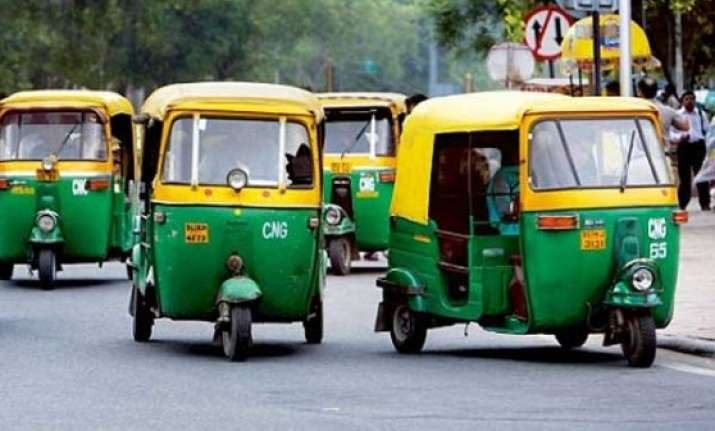 four wheeled autorickshaws debut in delhi