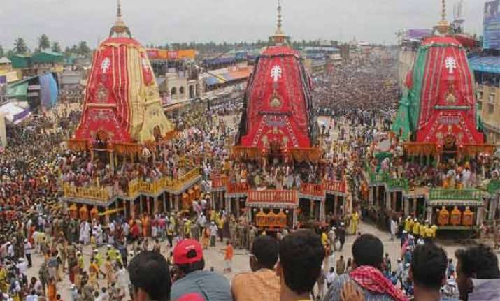 rath yatra celebrated in various parts of the country in