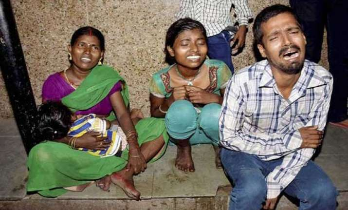 in pics patna stampede that killed 33 innocent people