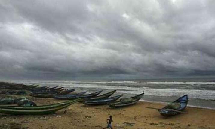 cyclonic storm weakens in bay of bengal