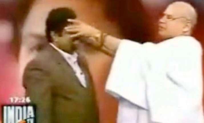 sun posts india tv expose of guru s stunt