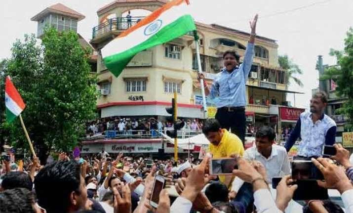 obc quota hardik patel calls for gujarat bandh today